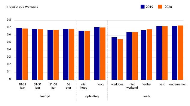 Figuur 3: Wel zien we grote welvaartsverschillen tussen bevolkingsgroepen
