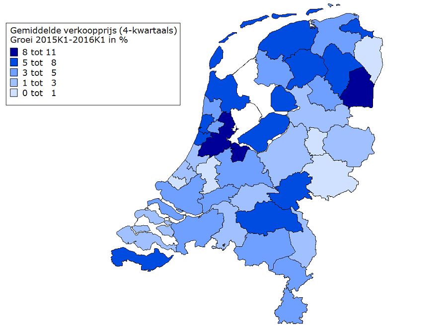 Woningmarkt stevent af op hoog aantal verkopen en flinke for Huizenzoeker amsterdam